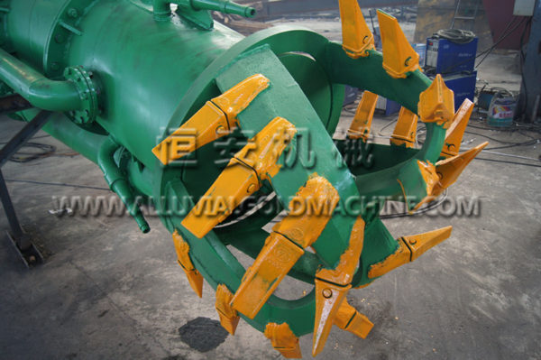 JD1100-75 Cutter Head for Hydraulic Cutter Suction Dredge