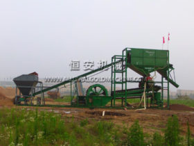 Gold mining, Sand washing and Deironing separating Combine Machine