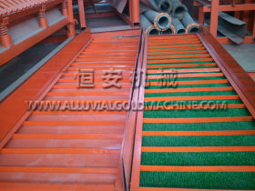 Gold Sluice with Mat